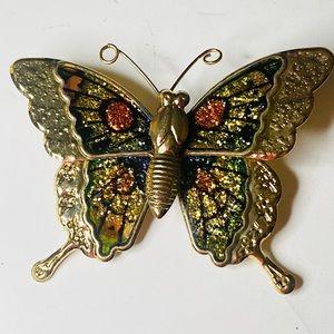 Vintage Enamel Butterly Pin/Brooch